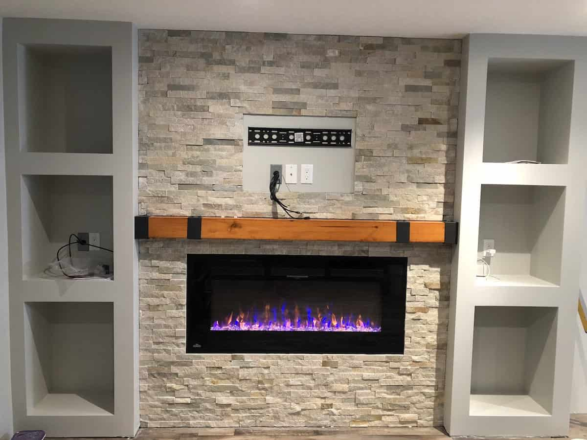 Fireplace Basement
